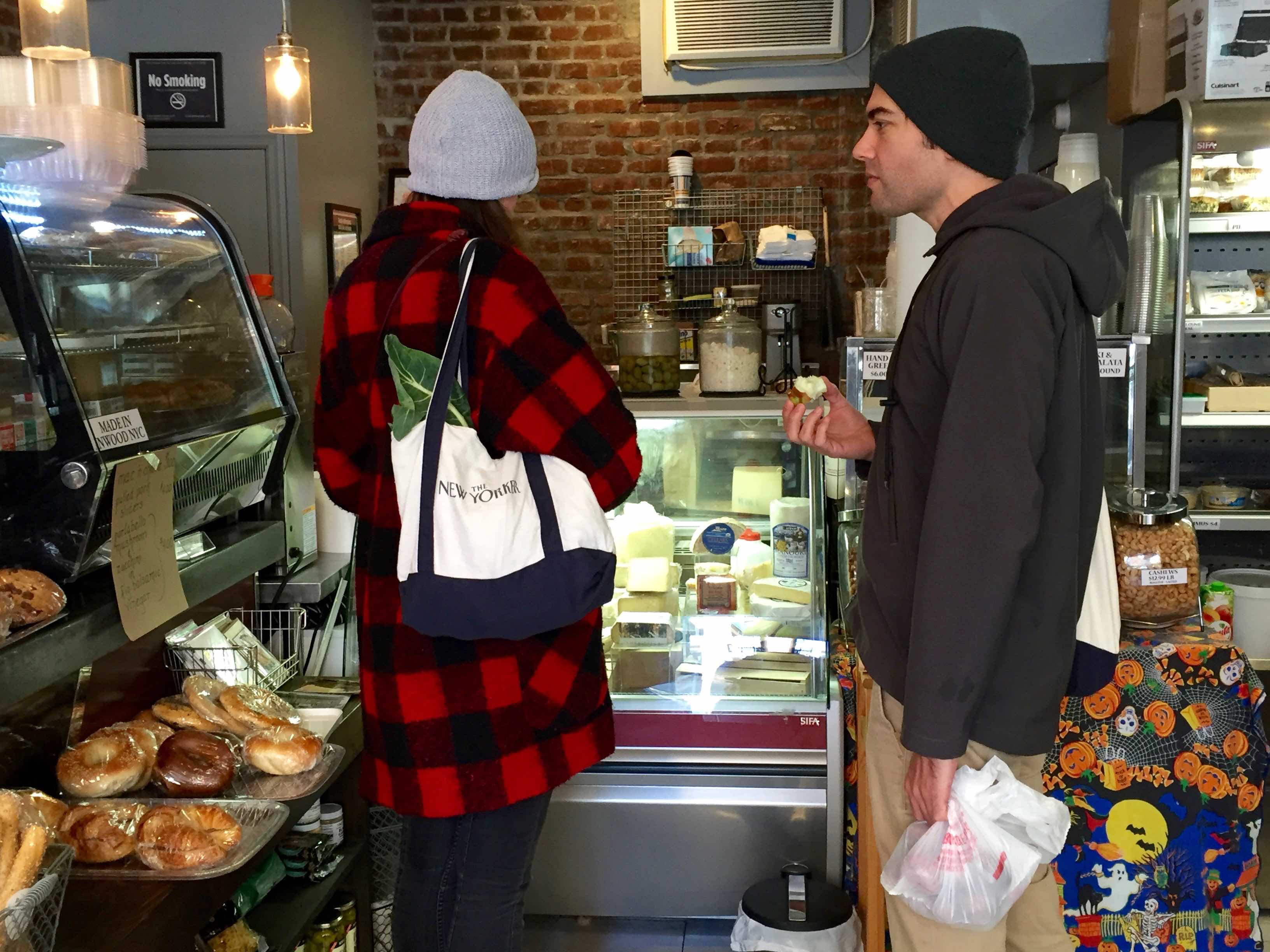 Shoppers at Inwood Gourmet